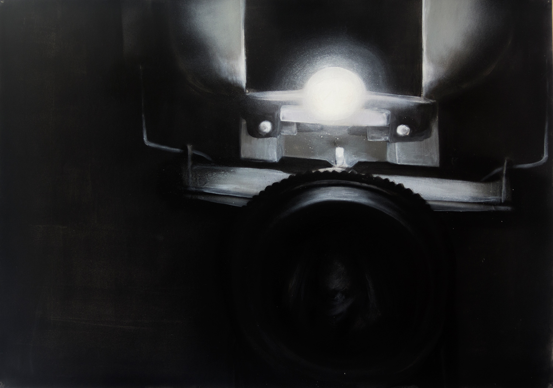 Machine VI; 100 x 70 cm; Acrylics on Paper; 2014