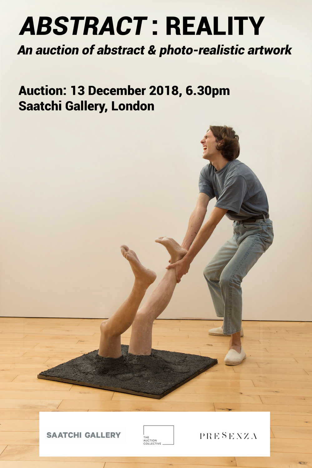 6th to 13th of December at the Saatchi Gallery / London. The auction will take place at 7.00 pm on Thursday, 8th of December.