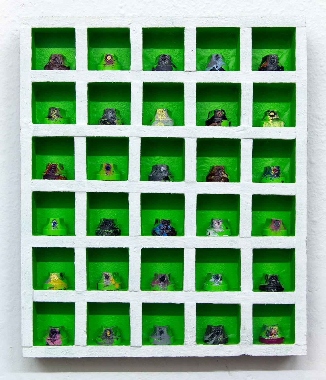 Nozzlebox 3D; 26 x 31 x 4 cm; 2018