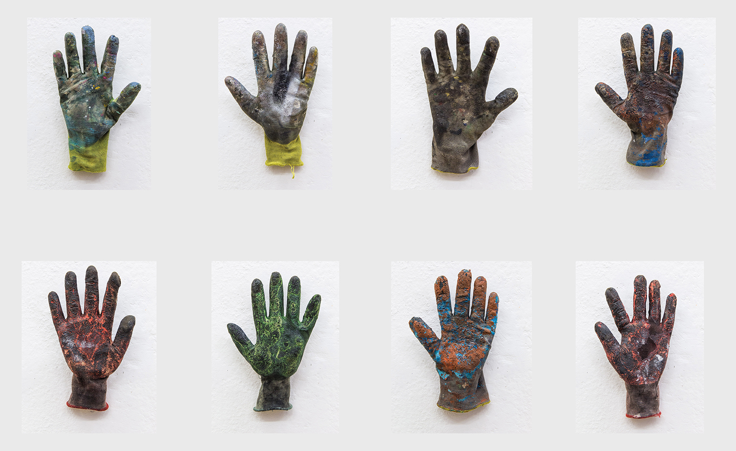 Hand Palette; 2009 to 2019