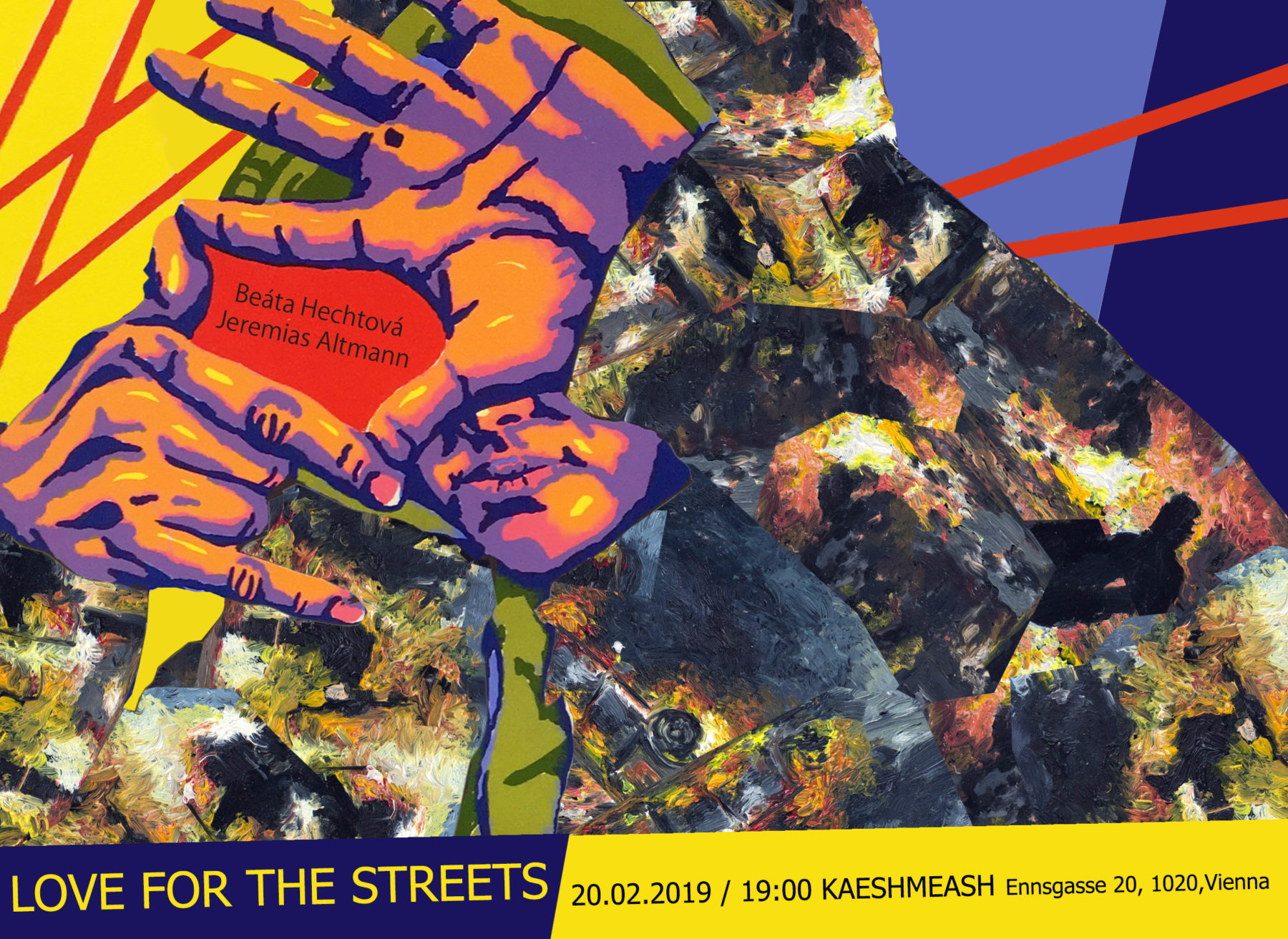 Opening: 20.02.2019 / 19:00 / KAESHMAESH / Ennsgasse 20, 1020 / Vienna